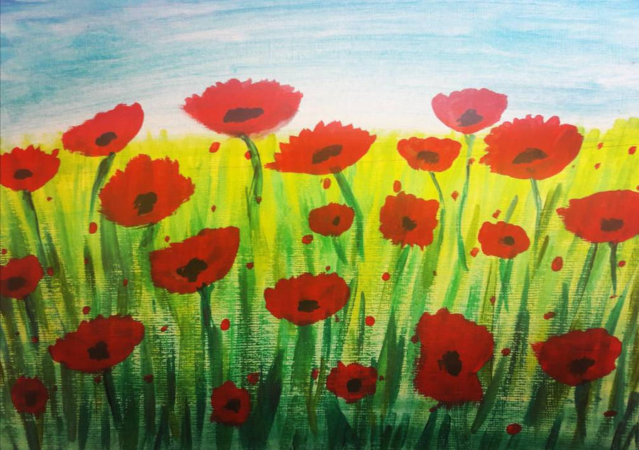 Poppies by TaitGallery