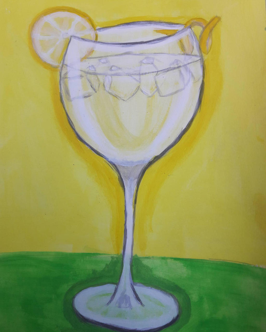 Gin and tonic by TaitGallery