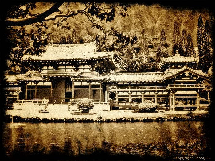 Byodo Temple by mutato-nomine