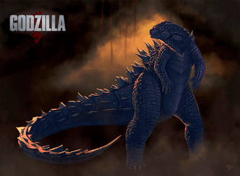 Legendary Godzilla by RiptorCPV