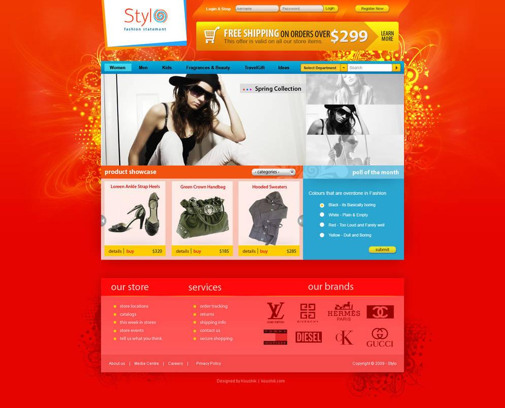 Stylo - Fashion Shop