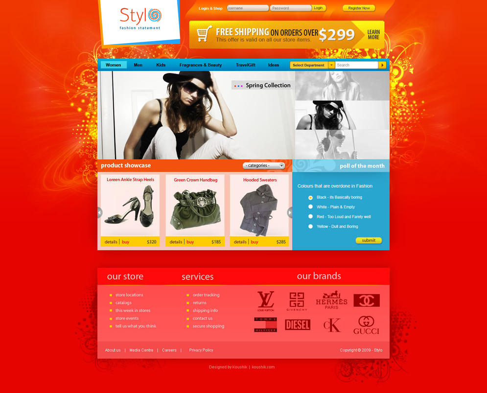 Stylo - Fashion Shop by agneva