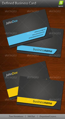 Defined Business Card