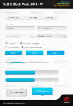 Soft n Sleek Web UI Kit