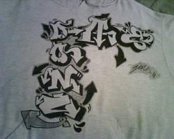 T-shirt design by jasondadon22