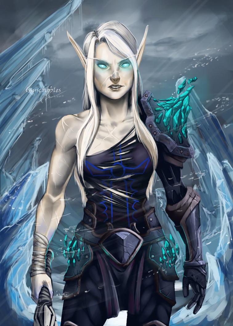 Blood elf DK by Linitha