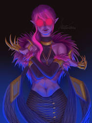 KDA Evelynn by Linitha