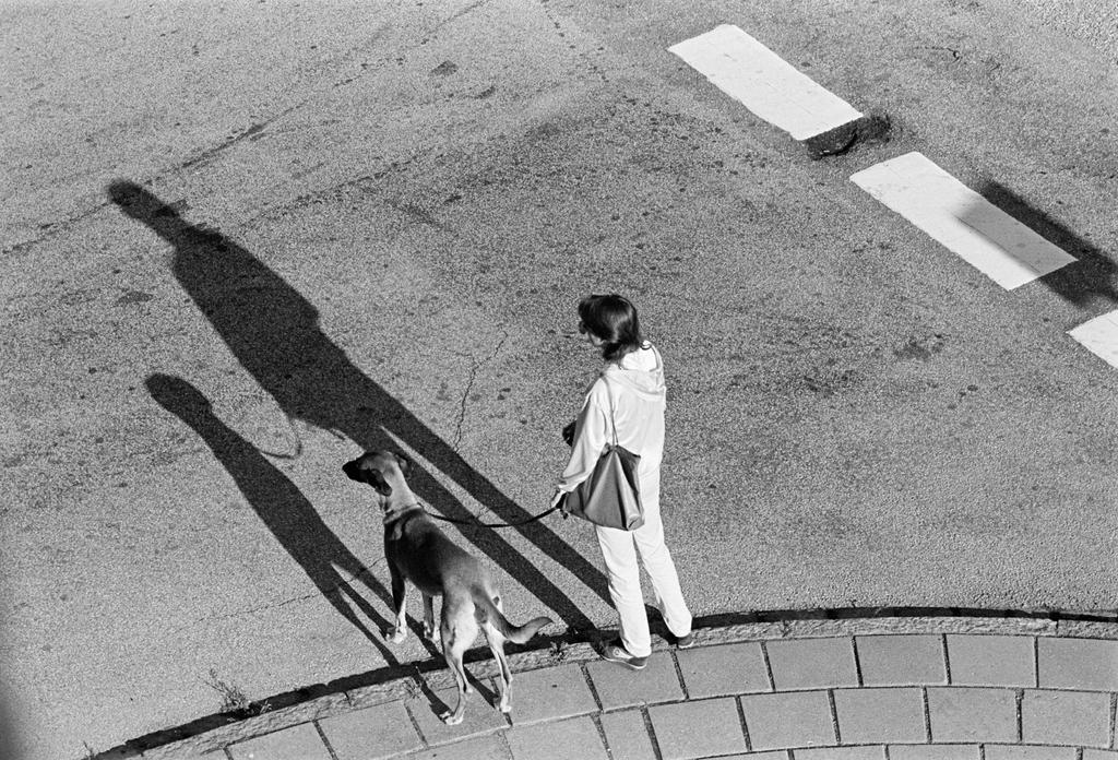 Girl with dog by ezkilzon