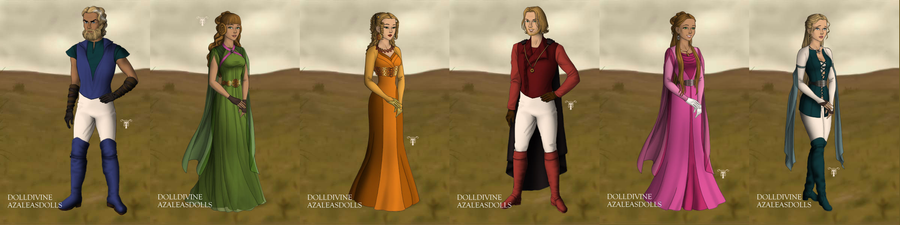 game of thornes the terra family by NAMIHATAKE6