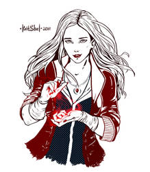 Scarlet Witch by KritShel