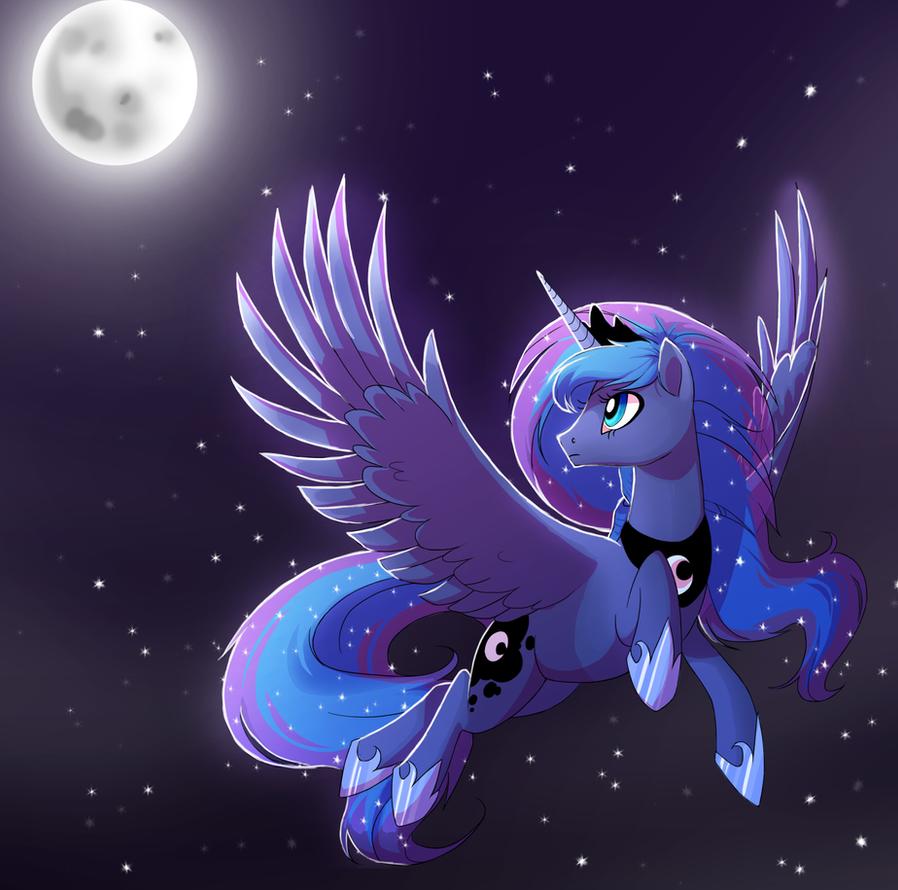 Luna by TrippinMars
