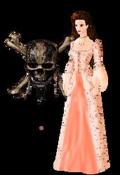 Dead Men Tell No Tales: Elizabeth Turner by FIREARROW1