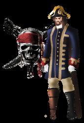 On Stranger Tides: Captain Barbossa by FIREARROW1