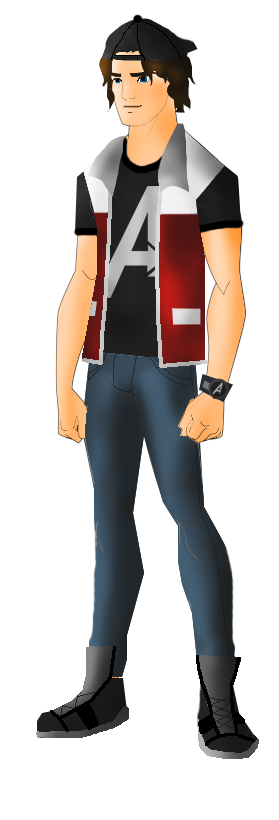 Commission: The Avenger Boy (Ace Thundison) by FIREARROW1