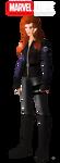 Marvel OC: Black Pearl (Marina Alianovna) by FIREARROW1