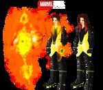 Marvel OC: Girl on Fire (Alicia Drake)