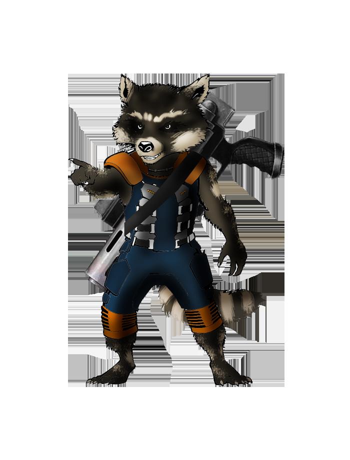 Star Lord And Rocket Raccoon By Timothygreenii On Deviantart: Marvel: Rocket Raccoon By FIREARROW1 On DeviantArt