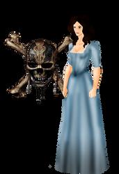 Dead Man Tell no Tales: Carina Smyth (Barbossa) by FIREARROW1