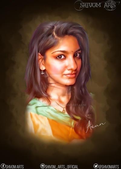 Devi Narayanann  by shivomarts