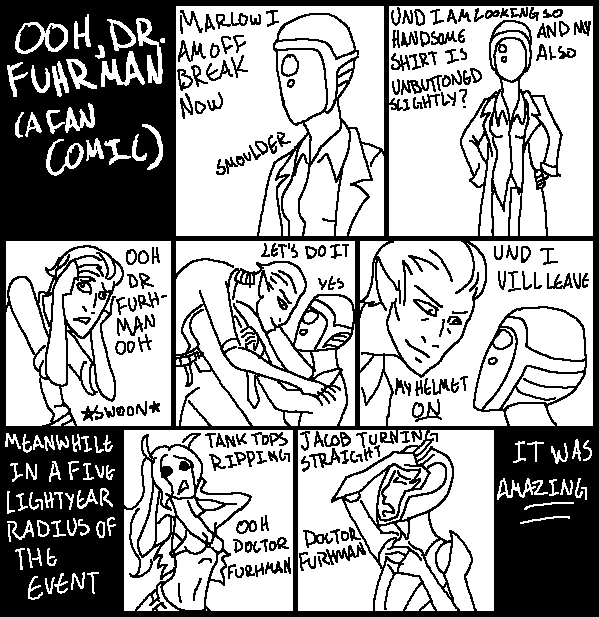 Ooh Dr. Furhman: a fan comic by QuestionableVeracity