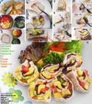 Vegan Fresh sandwich sushi by Doll1988
