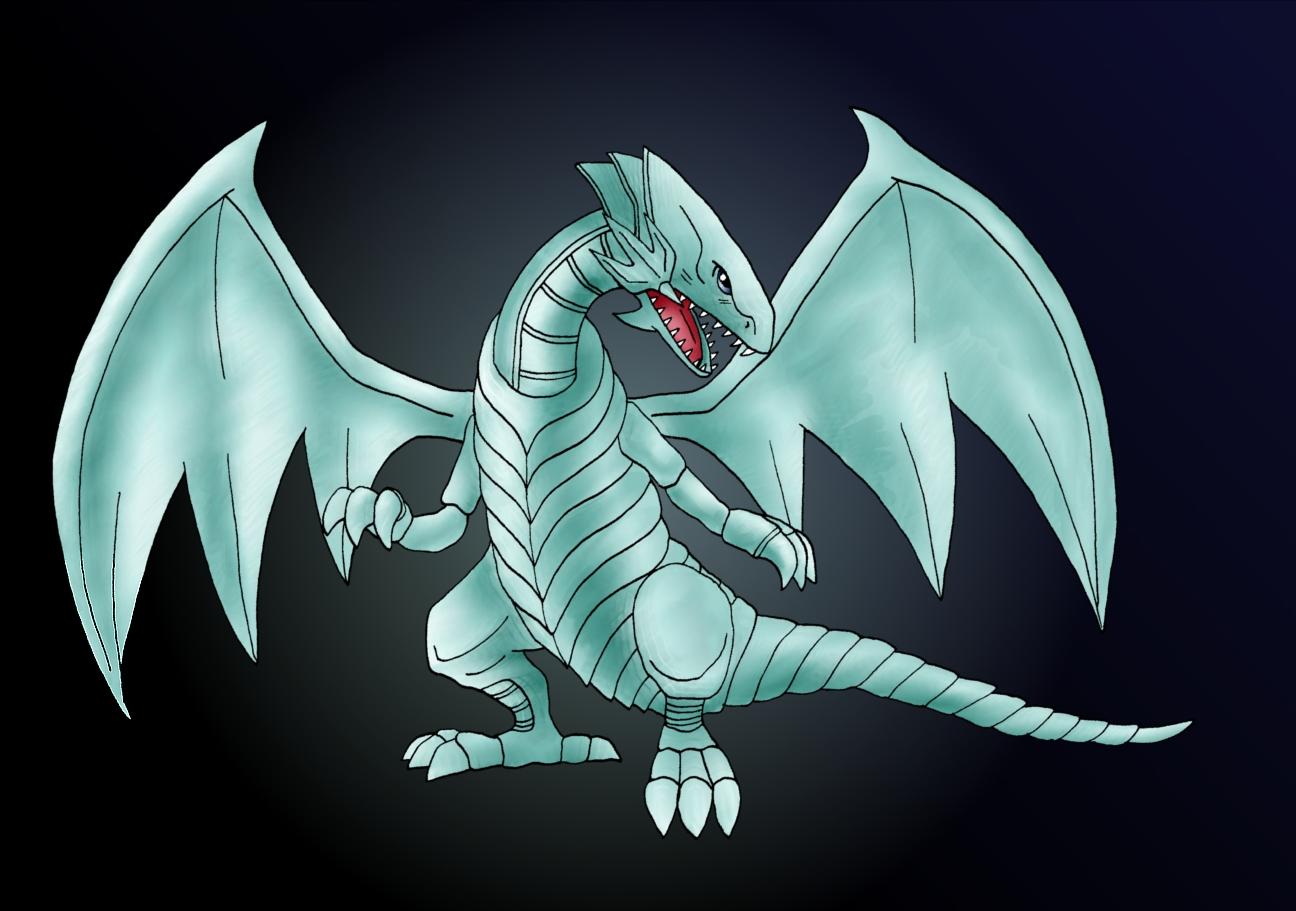 Blue Eyes White Dragon By Artisticpuppy On Deviantart