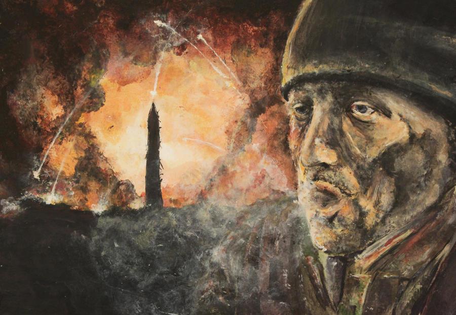 Art Exam: Final: War by kenfan0206