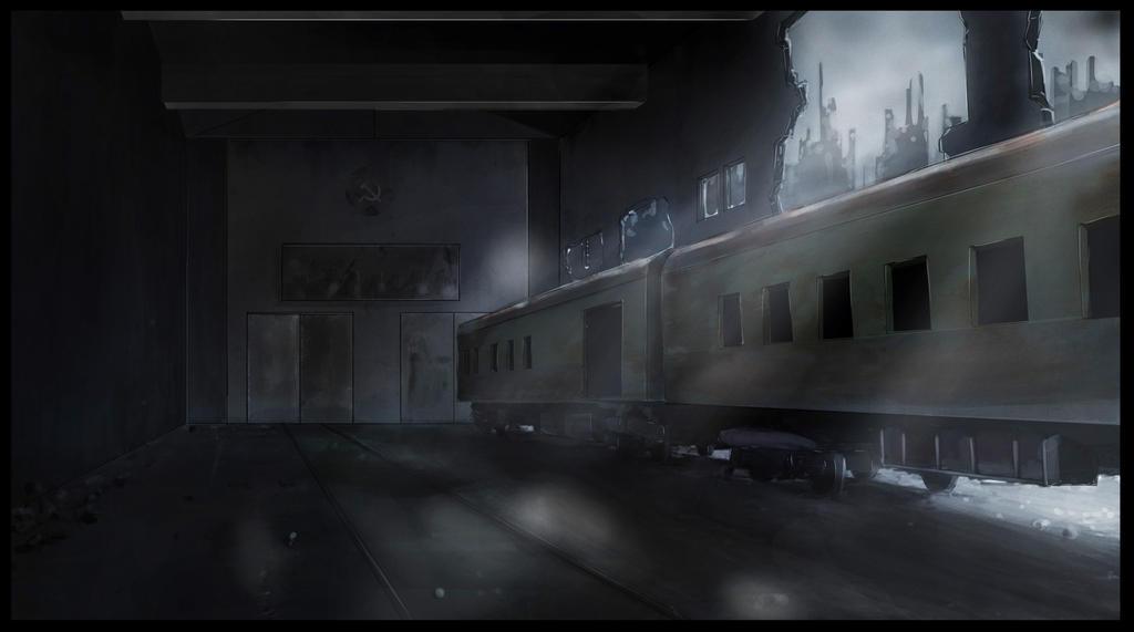 Abandoned Train Station by kenfan0206