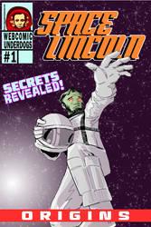 Space Lincoln: Origins ALTERNATE cover