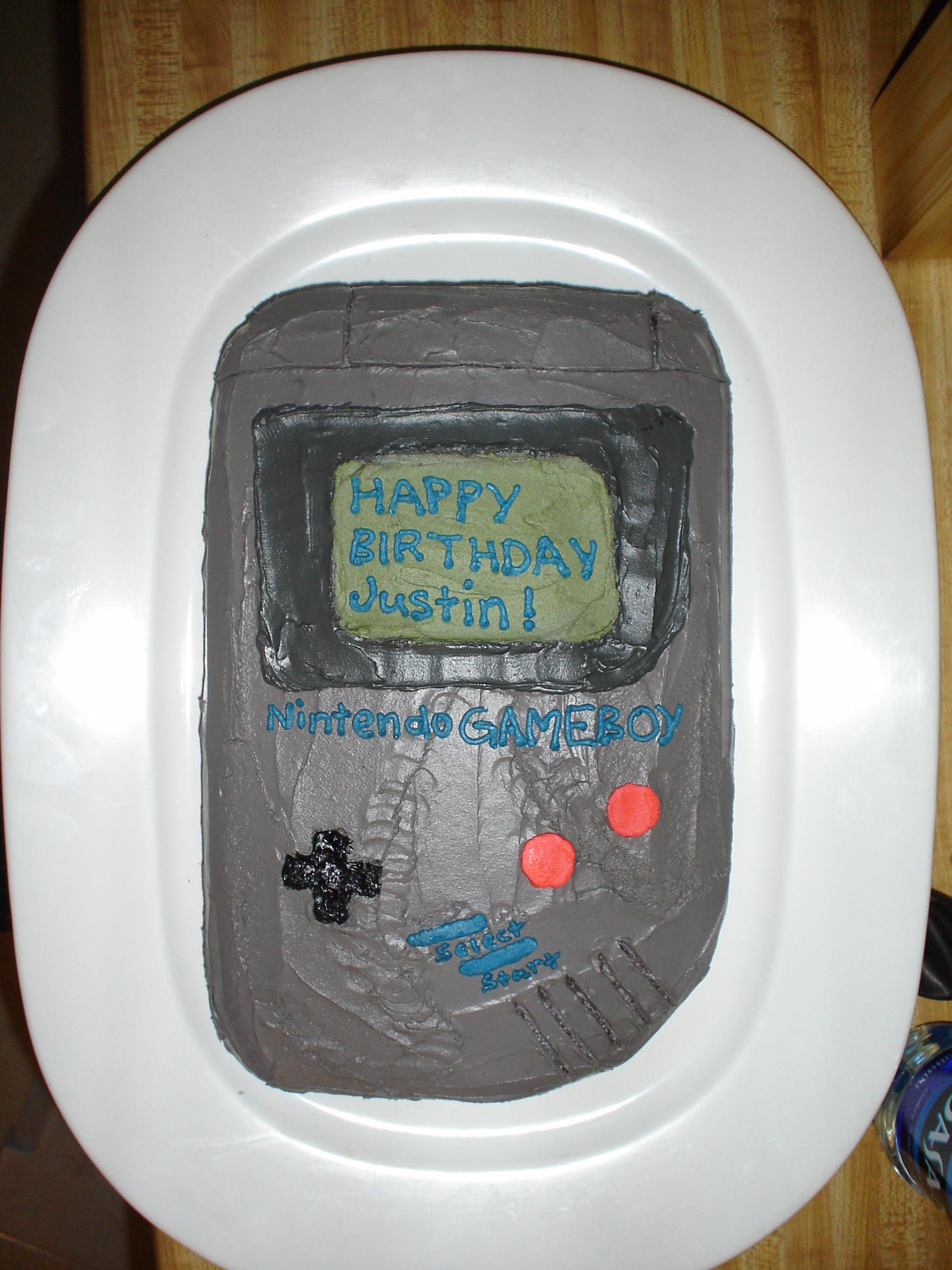 GameBoy Cake by pateachoux
