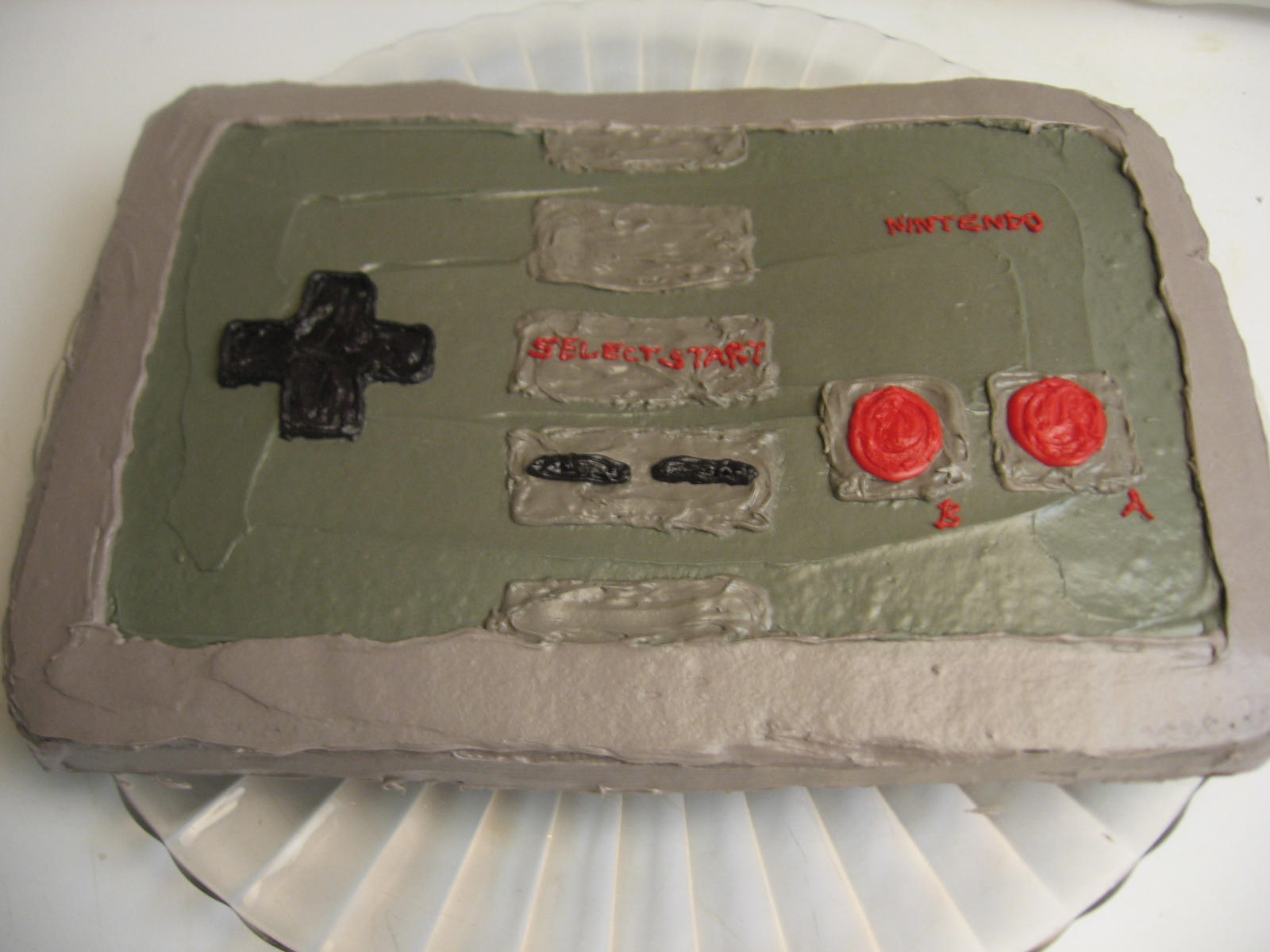 Nintendo Controller Cake 2 by pateachoux