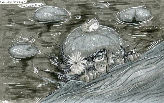 The Talking River (Inktober Prompt #7)