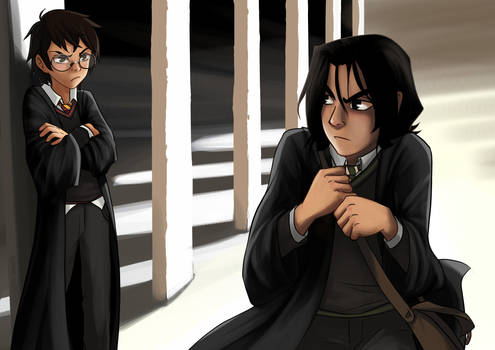 Severus and James - First Year