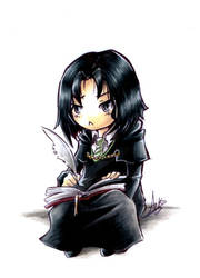 Chibi Severus - 11 years old by SeverusSnape