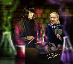 Me and Sev - Potion Lesson v2 by SeverusSnape