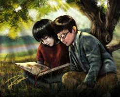 Severus, James, Hogwarts Book