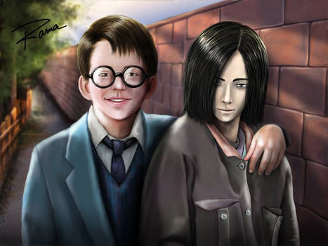 James and Severus, Just friend