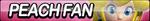 Peach Fan Button (Edited) by ButtonsMaker