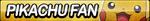 Pikachu Fan Button by ButtonsMaker