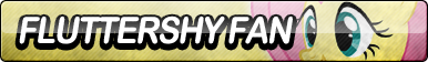 Fluttershy Fan Button (Edited)