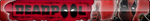 Deadpool Fan Button by ButtonsMaker