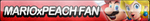 MarioxPeach Fan Button by ButtonsMaker