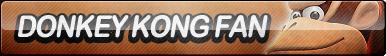 Donkey Kong Fan Button (UPDATED) by ButtonsMaker