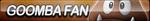 Goomba Fan Button by ButtonsMaker