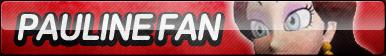 Pauline Fan Button by ButtonsMaker