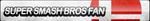 Super Smash Bros Fan Button by ButtonsMaker