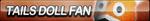Tails Doll Fan Button by ButtonsMaker