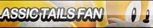 Classic Tails Fan Button by ButtonsMaker