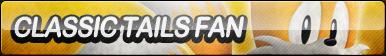 Classic Tails Fan Button