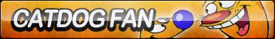 CatDog Fan Button